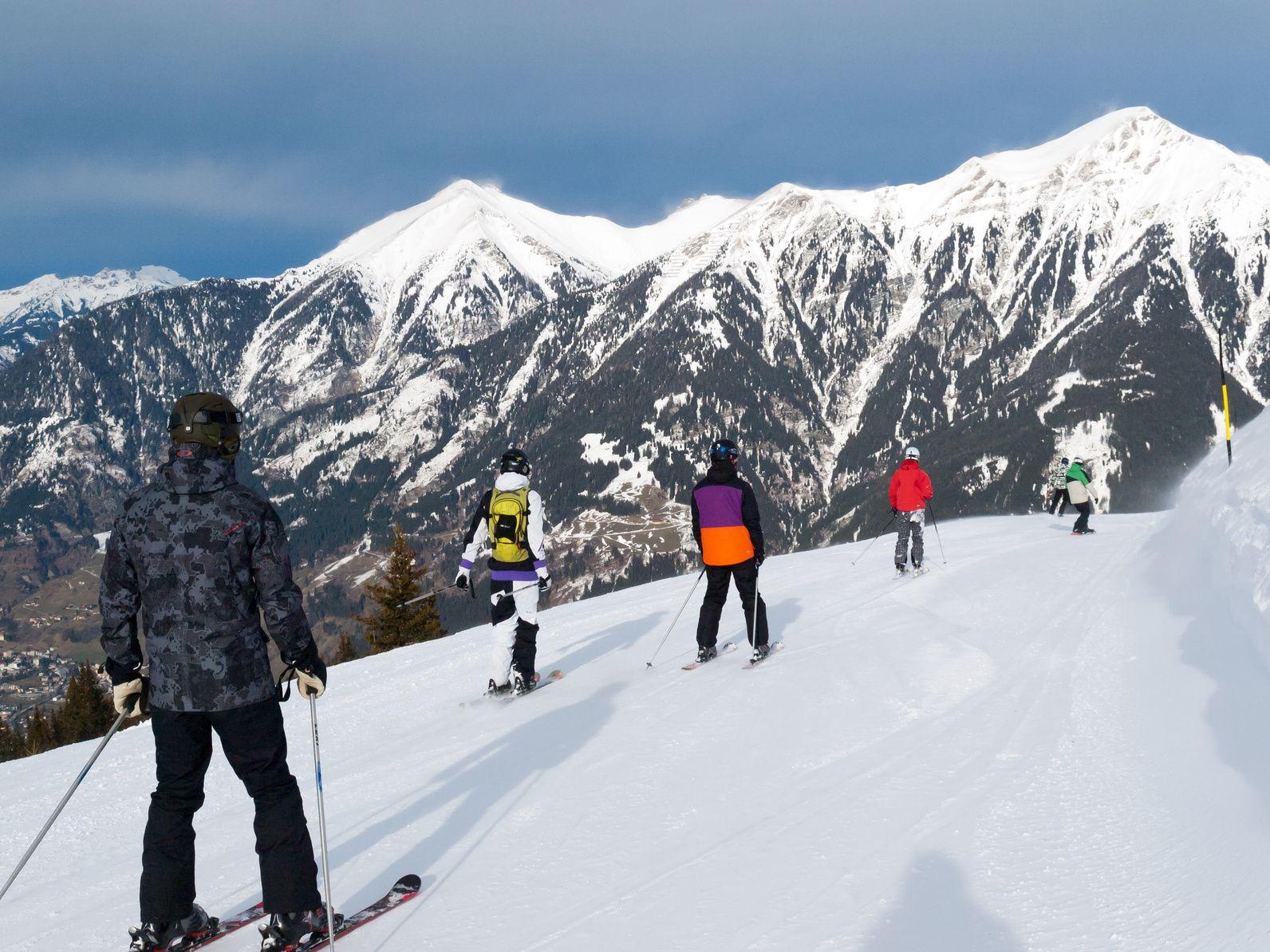 Skifahren Flachau