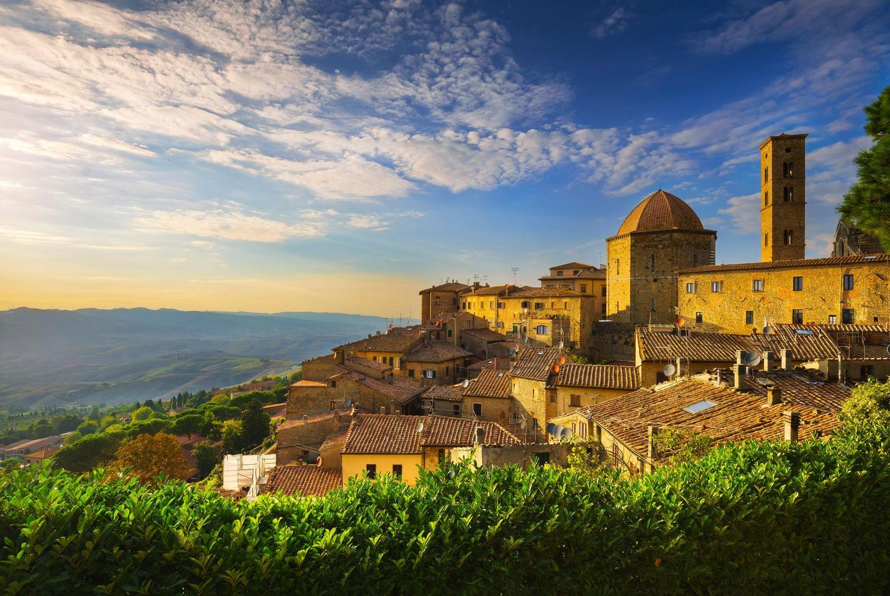 Volterra Italien Pisa Toskana Chianti Region iStock 610570662