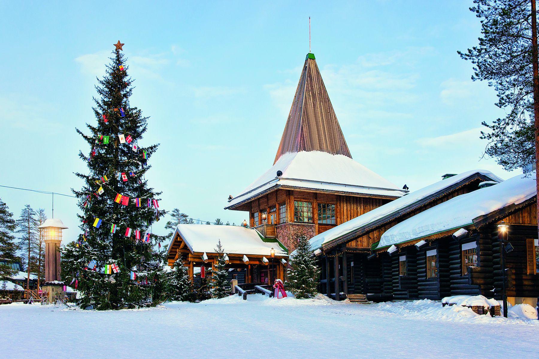 Santa Claus Village Rovaniemi iStock672600774